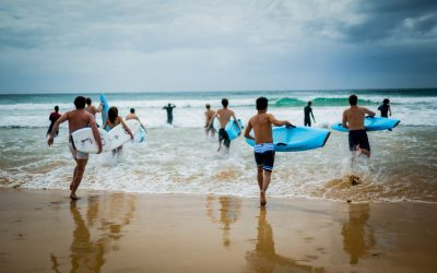 ICMS Impressionen Australien - Surf Safety Day
