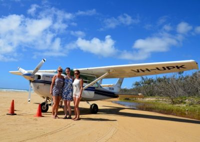 ICMS - Fraser Island Flight