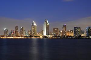 NU Ruven M Skyline San Diego at Night
