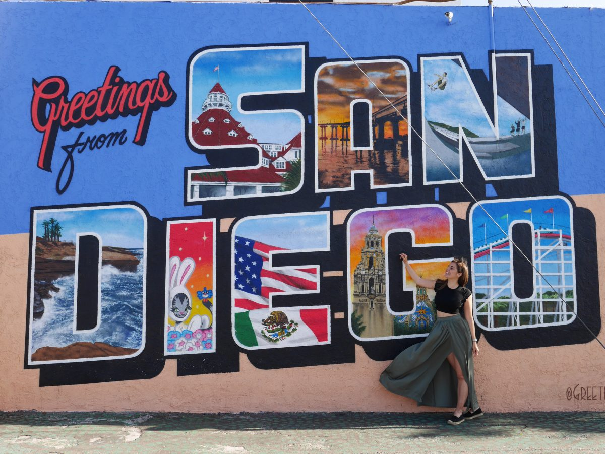 Studieren in Kalifornien - Street Art in San Diego