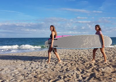 UNCW (USA) Surfen am Wrightsville Beach